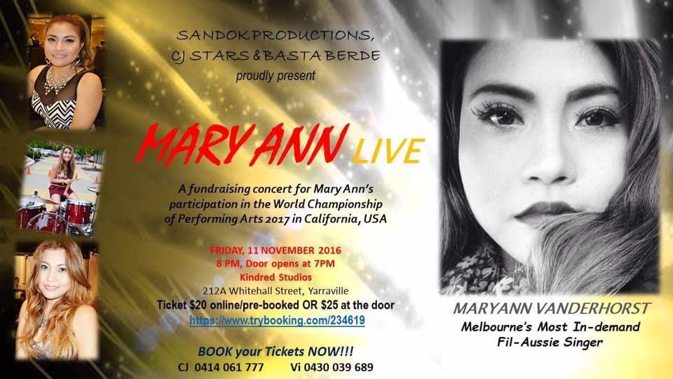 Mary Ann Live